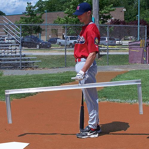 Batter's Box Template – Official 4×6