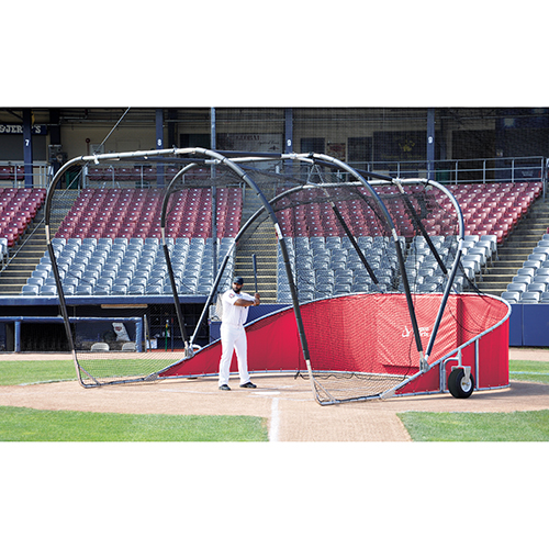 Big League Bomber Elite Batting Cage (Red)