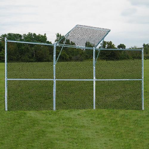 Permanent Baseball/Softball Backstop (3 Panel, 1 Center)