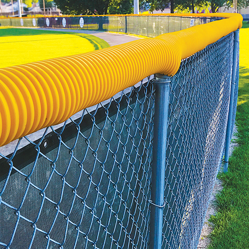 Poly-Cap Fence Top Protection (100′ Yellow)