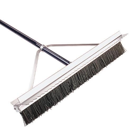 Double Play Scarifier Broom
