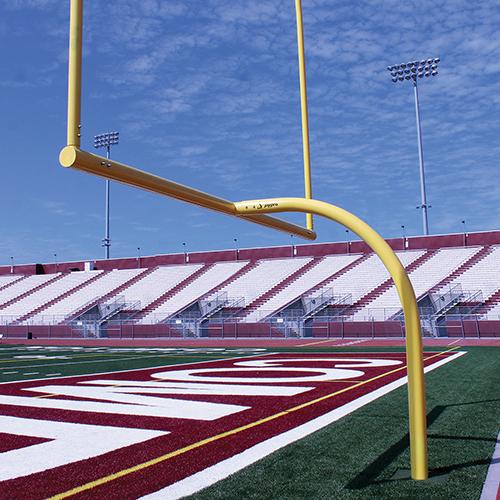 "MAX-1™ Football Goal Post (Semi/Perm – 8'Ox30'U – High School 23' 4"" Wide)"