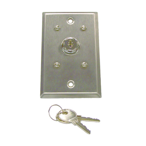 Key Switch For Backstop Winch