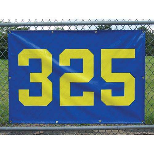 """Outfield Distance Marker 38″x 56″ w/ 24"""" Numbers"""