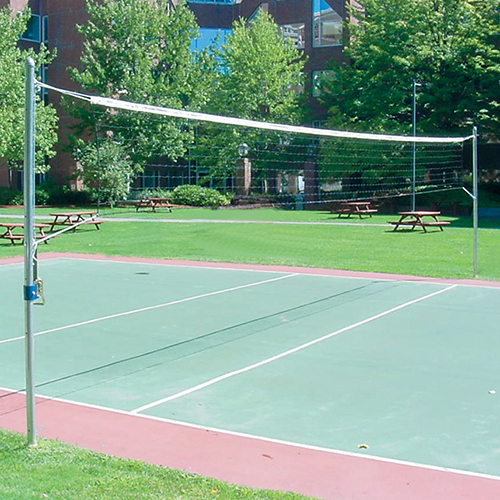 Recreational Outdoor Volleyball System