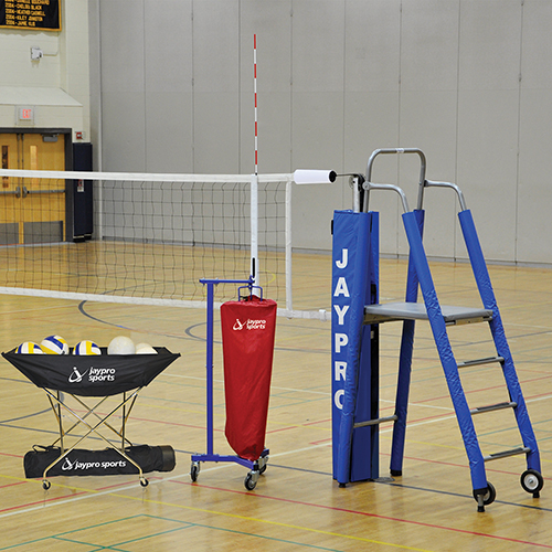 "3½"" Featherlite™ Volleyball System Package"