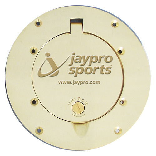 """7½"""" Brass Cover Plate"""