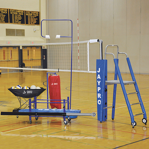 "3½"" Powerlite™ Deluxe Volleyball System Package"