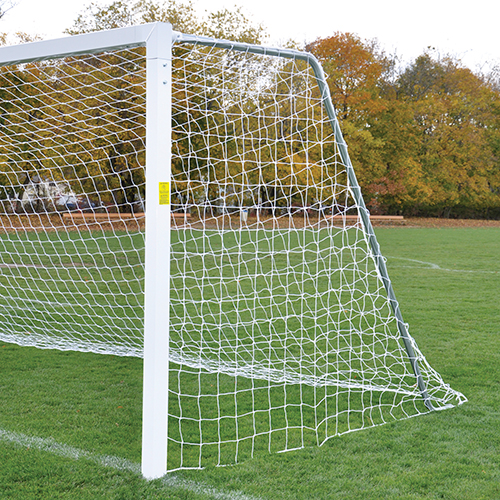Classic Official Square Goal (Semi-Permanent Goal w/ Galvanized Steel Backstays)