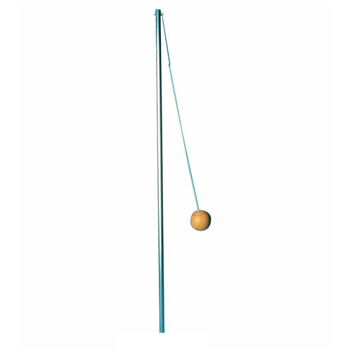 Semi-Permanent Outdoor Tetherball Pole