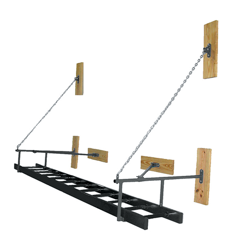 Wall-Mounted Gym Ladder