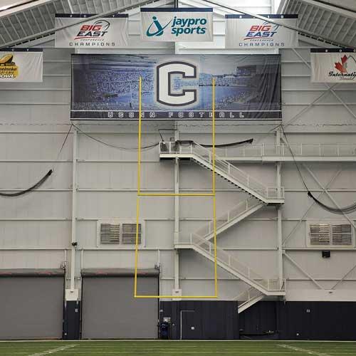CSGP-2 Retractable Ceiling Suspended Goal Post