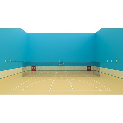 Quick Set-Up Indoor Batting Cage (55'L x 14'W x 14'H)