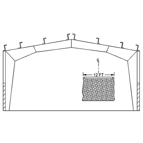 Rigid Frame Ceiling Mounting Kit
