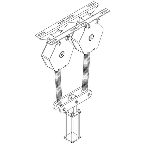 Matlok™ Wrestling Mat Storage System Safety Strap
