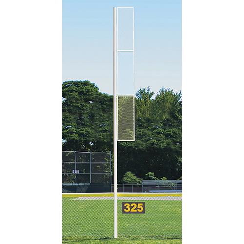 Collegiate Foul Pole (30′ Softball – White)