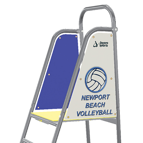 Beach Volleyball Referee Stand Custom Graphics
