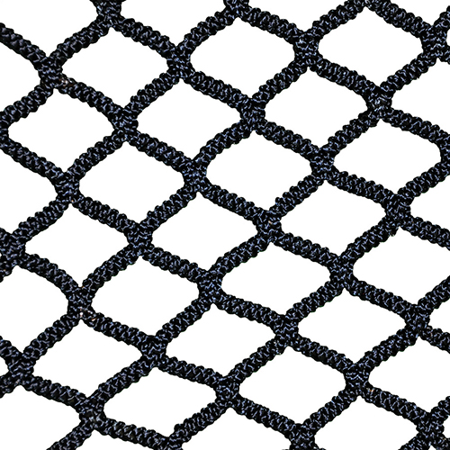 NETX1™ Seamless One Piece Lacrosse Net (Box, Black)