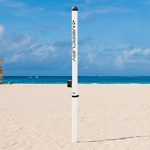 Mercury™ Aluminum Beach Volleyball Uprights
