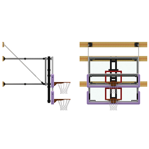 Manual Height Adjuster Wall Mount Kit