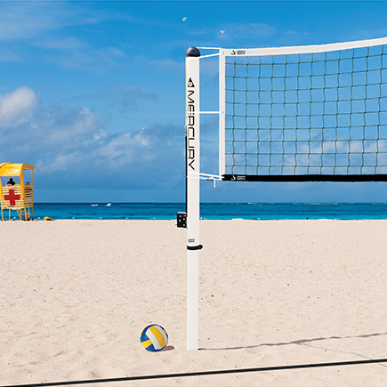 Mercury™ Aluminum Beach Volleyball System