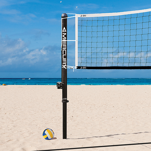 Mercury™ Carbon Beach Volleyball System