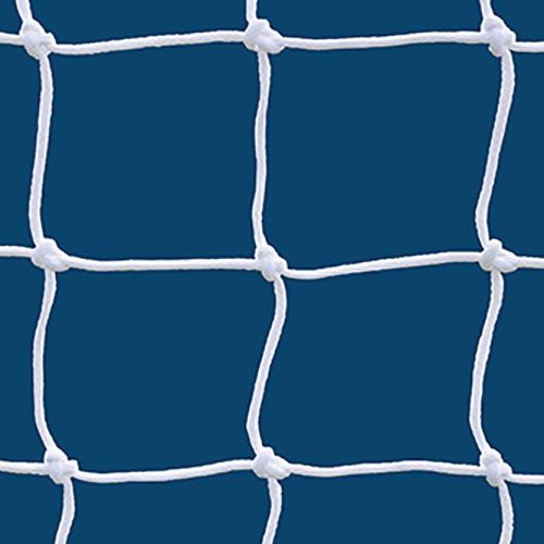 6mm Official White Soccer Net