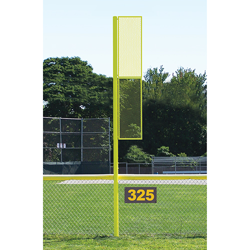 Collegiate Foul Pole (15′ Baseball – Yellow)
