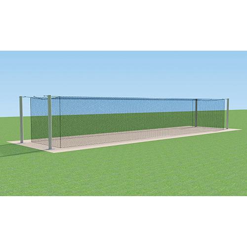 MEGA Outdoor Batting Tunnel Frame (Single – 55′)