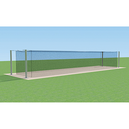 MEGA Outdoor Batting Tunnel Frame (Single – 70′)