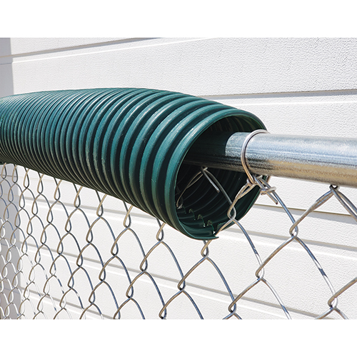 Poly-Cap Fence Top Protection (100′ Forest Green)