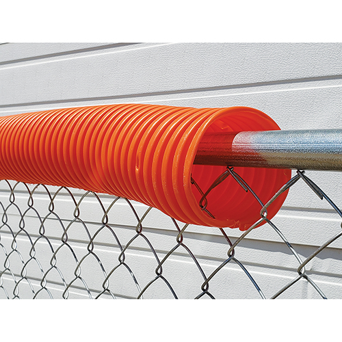Poly-Cap Fence Top Protection (100′ Orange)