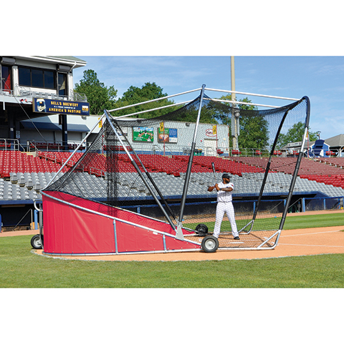 Big League Bomber Pro Batting Cage (Red)