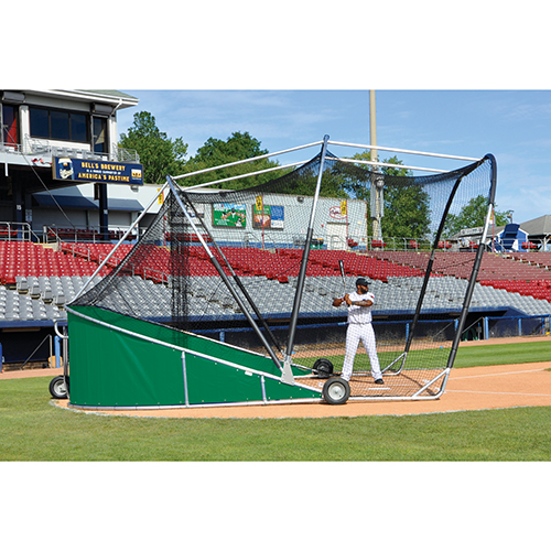 Big League Bomber Pro Batting Cage (Green)