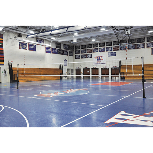Featherlite™ Volleyball Systems (2″ Canadian)