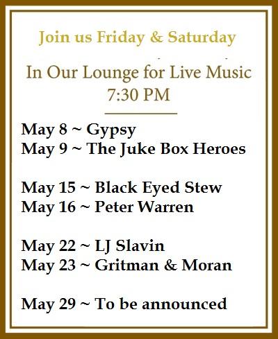 Chessie's Music May 2015