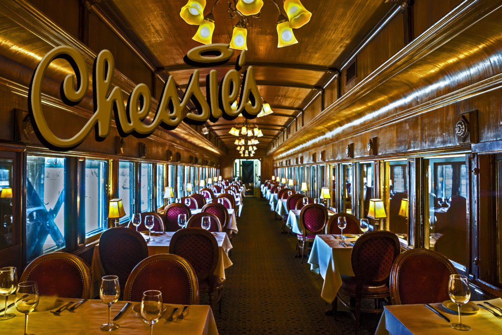 Chessie's Train Car Dining