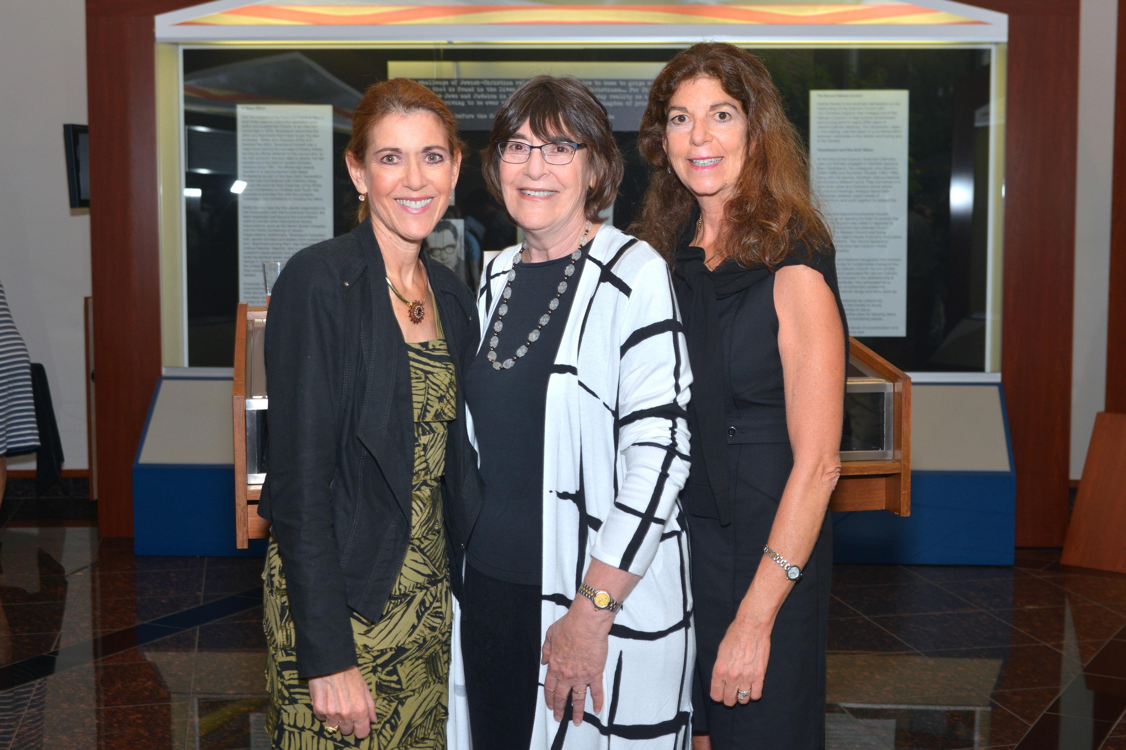 Shelley Sutker-Dermer, Sharon Sutker McGowan and Edie Sue Sutker