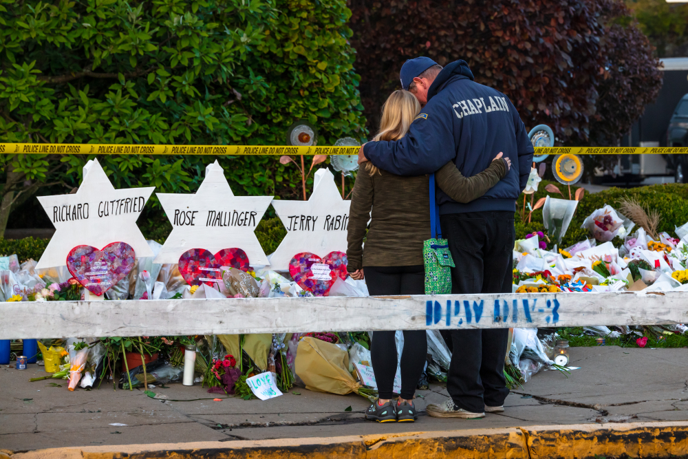 Mourning in Pittsburgh - photo by Shutterstock
