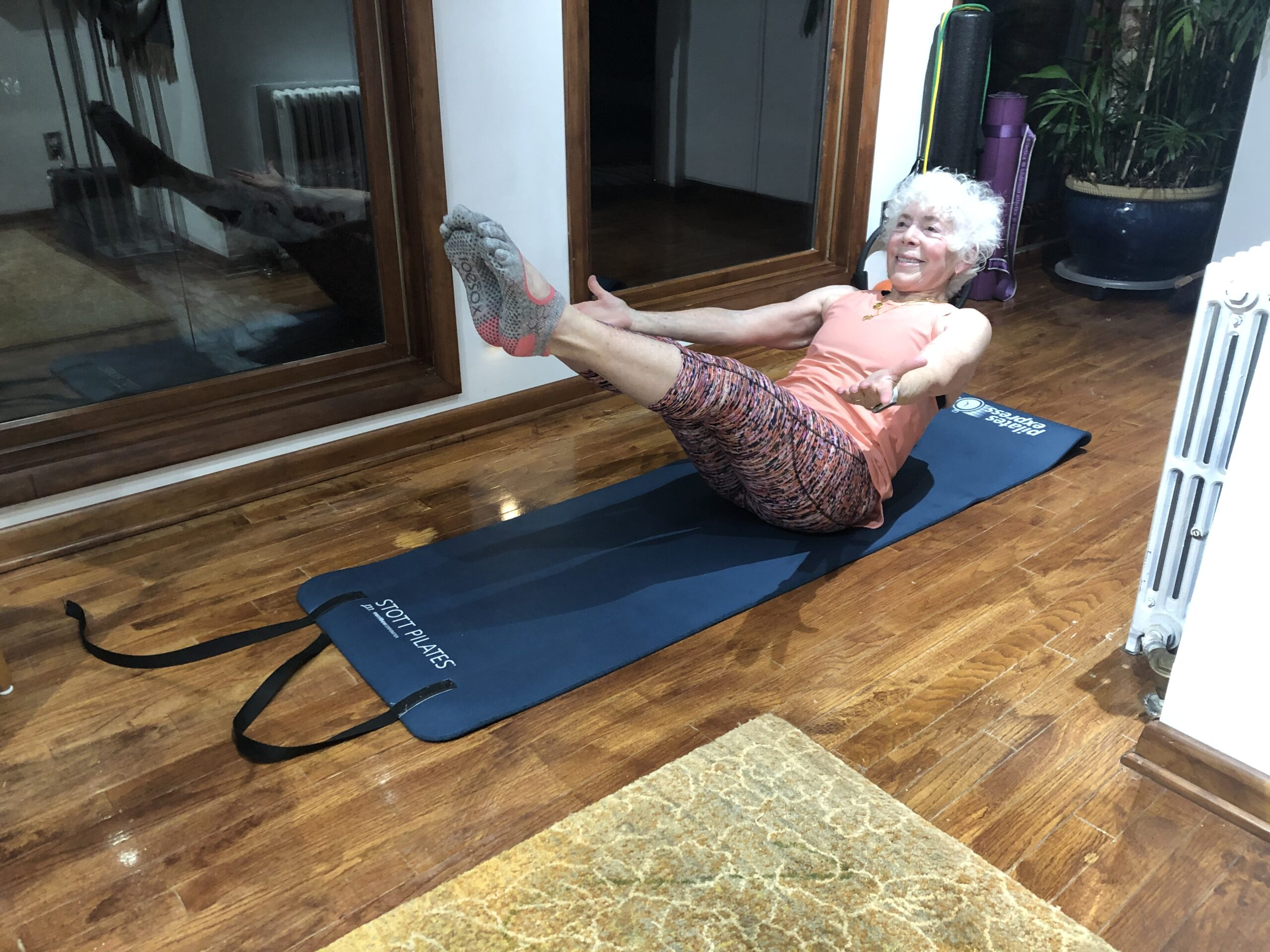 image of pilates with Linda