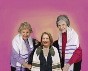 photo of ladies bat mitzvah