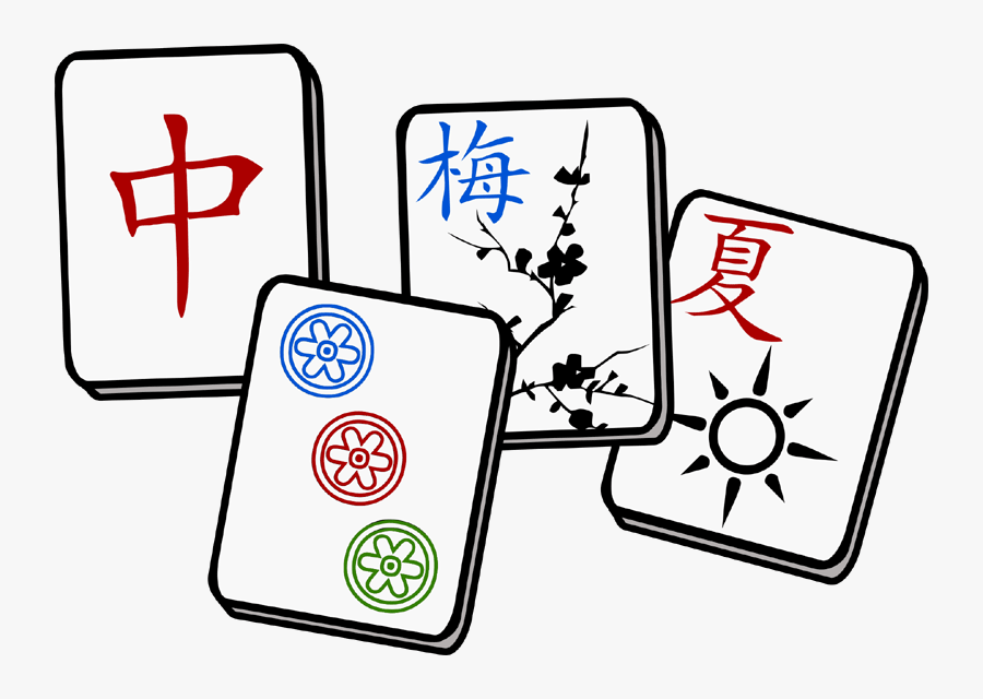 photo of mah jong tiles