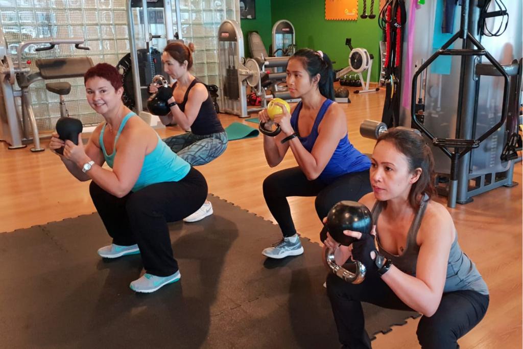 group gym training
