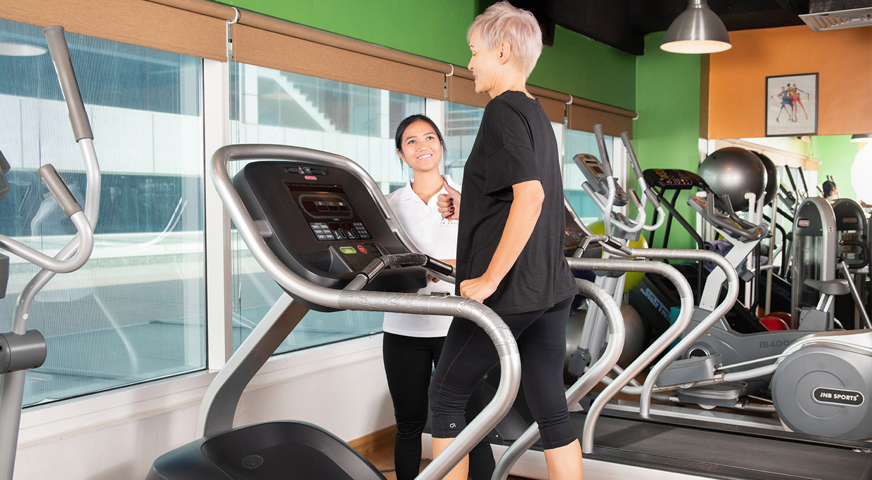 about in shape ladies fitness club dubai gym