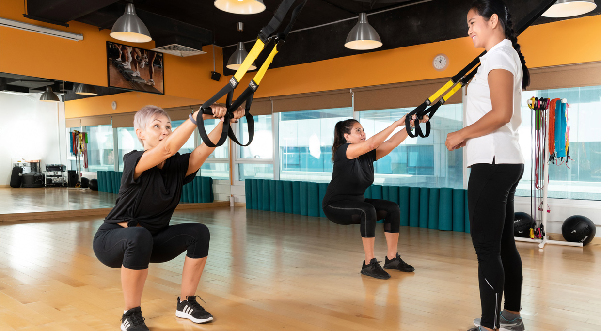 group personal training dubai