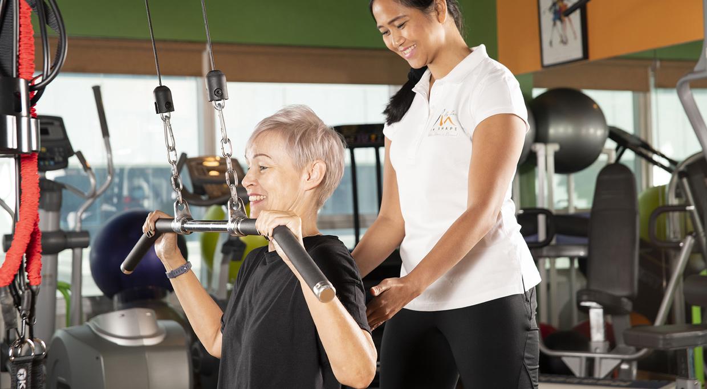 personal training gym dubai