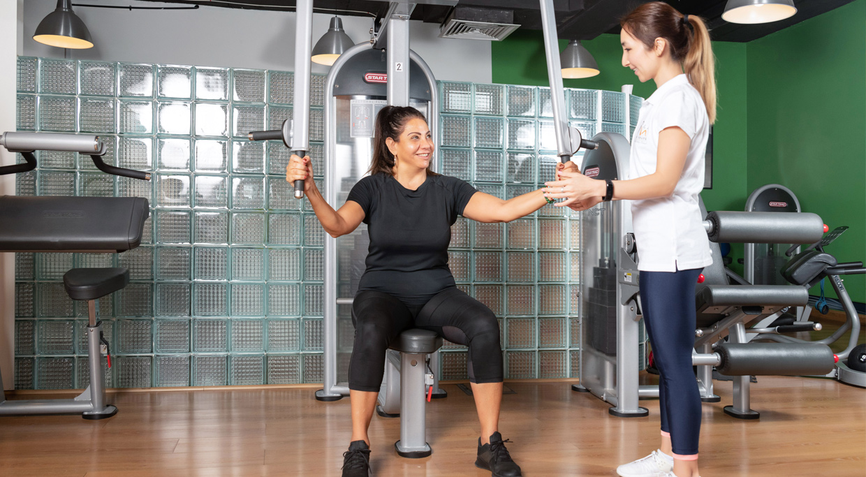 personal training gym dubai