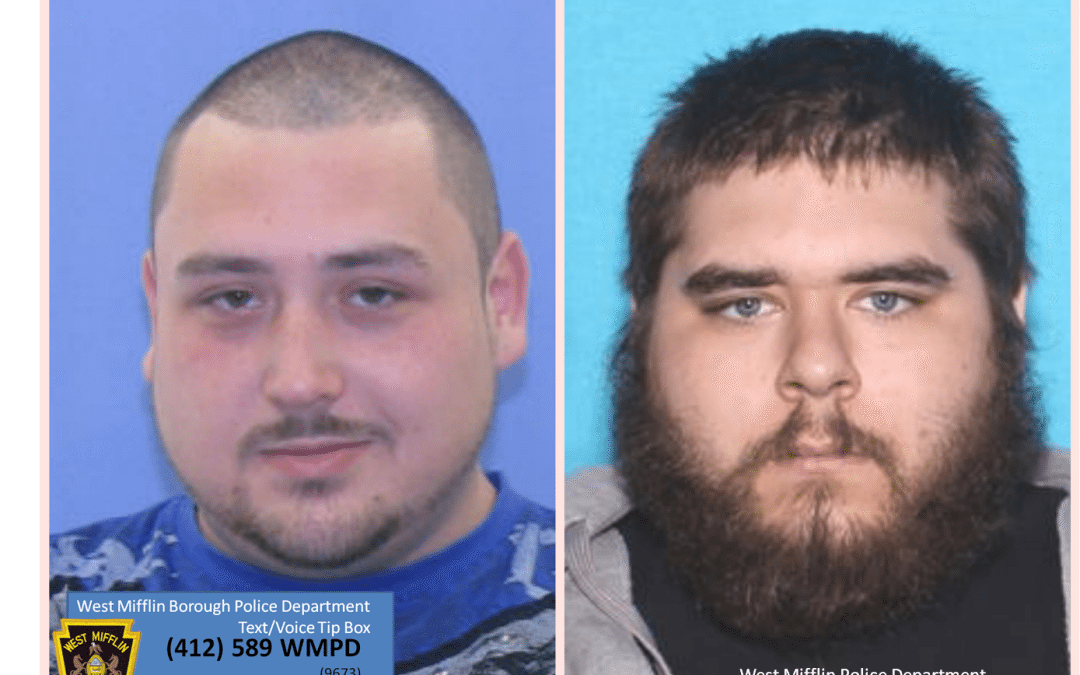 Community Assistance:  Wanted – Shawn O'Leary & Christopher Cunningham