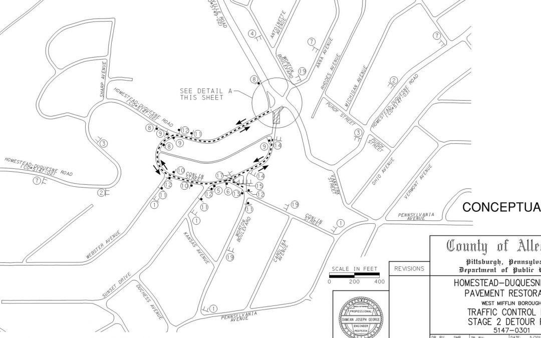 Worton/Homestead-Duquesne Detour