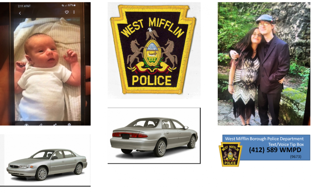 West Mifflin Police Attempting To Locate Endangered Infant